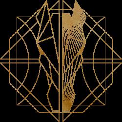 logo gold w texture